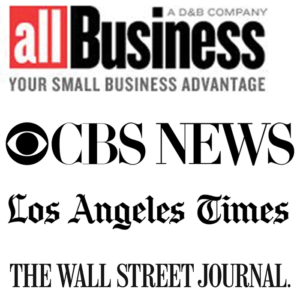 all Business, CBS News, Los Angeles Times, The Wall Street Journal