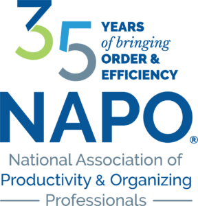 NAPO National Association of Productivity and Organizing