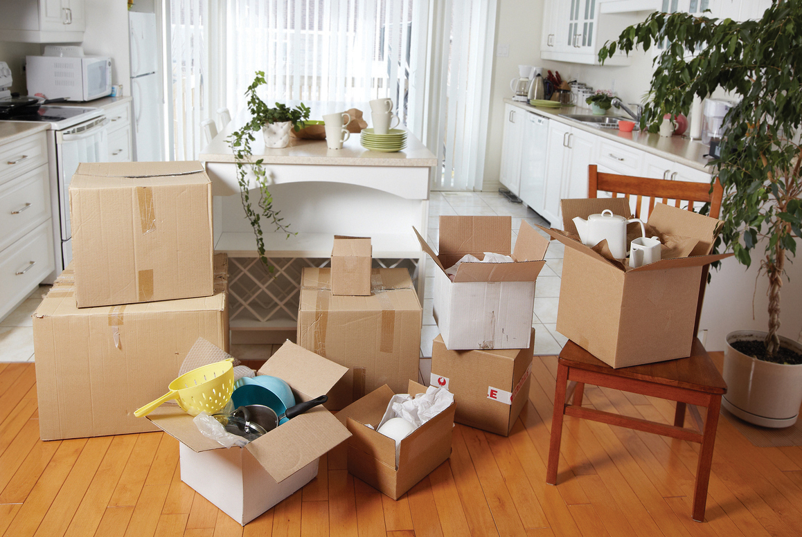 organizing and de-cluttering are necessary to complete a senior downsizing