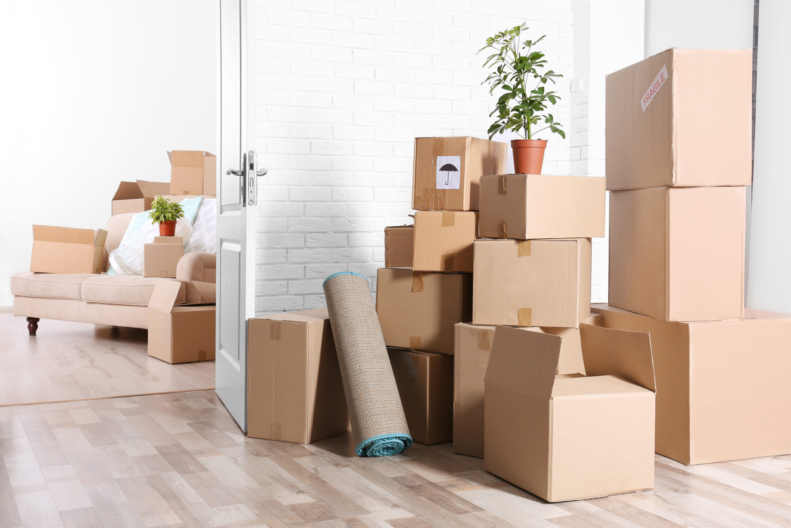 Downsizing is always about boxes, packing them and then unpacking them. Pack by room is the best.