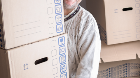moving, packing, unpacking with a downsizing move manager