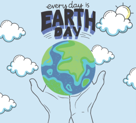 clean up, recycle, de-clutter not just for spring or Earth Day, but every day because every day is Earth Day